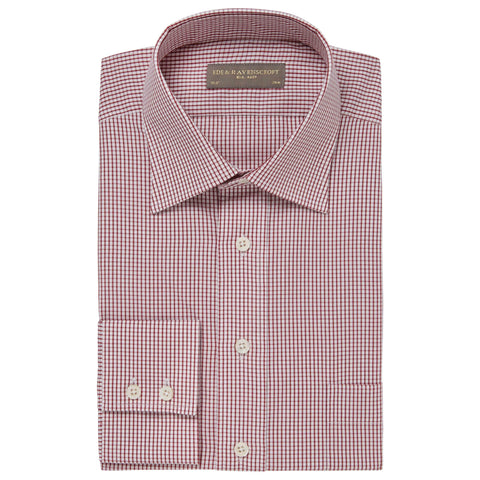 Red Alderney Check Shirt