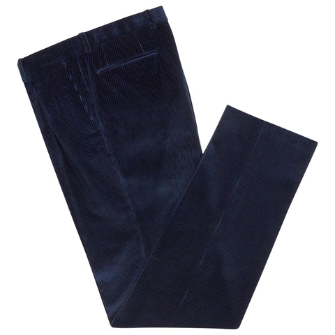 Blue Tyler Corduroy Trousers
