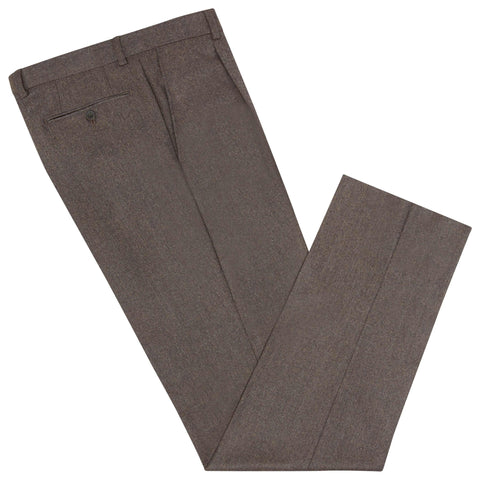 Brown Tyler Flannel Trouser