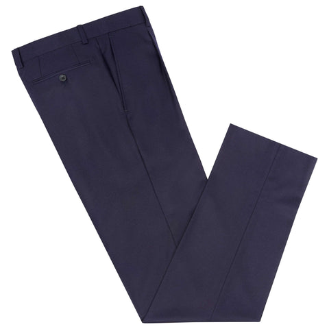 Tyler Navy Flannel Trouser