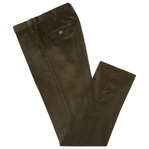 Terrance Green Corduroy Trousers