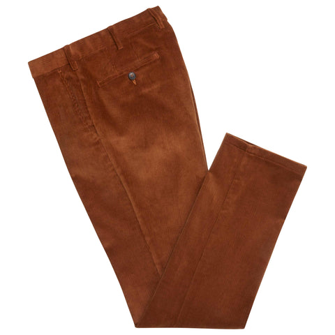 Tan Terrance Corduroy Trousers