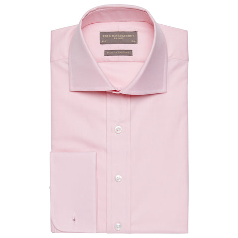 Ambrose Pink Royal Oxford Cotton Shirt