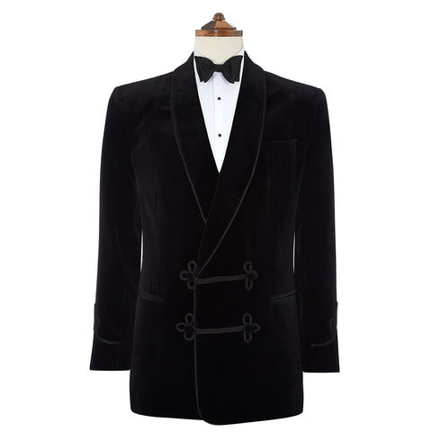 Bloomsbury Black Velvet Jacket