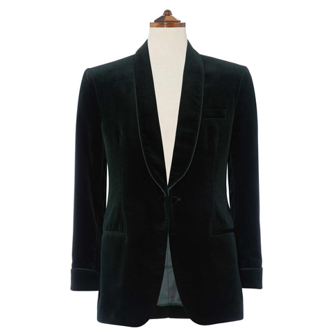 Dark Green Windsor Jacket