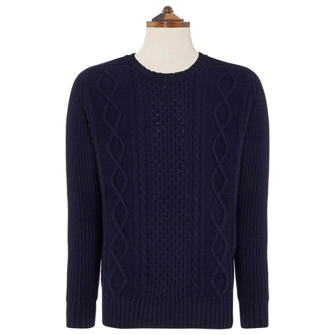 Navy Clifton Sweater