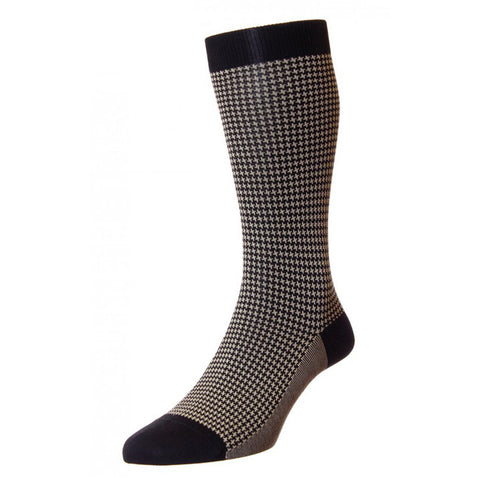Black and White Hampstead Socks