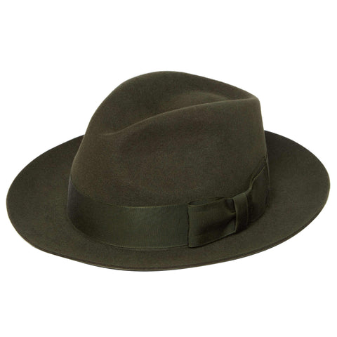 Green Hawk Felt Trilby
