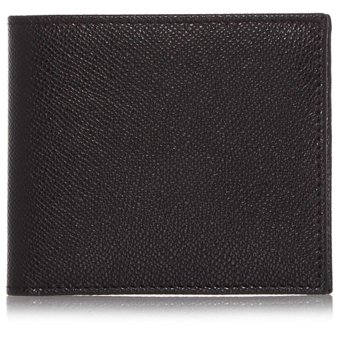 Black Leather Eight Card Wallet