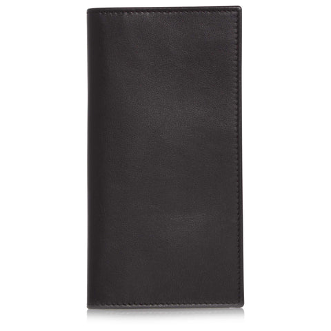 Black Soft Leather Coat Wallet