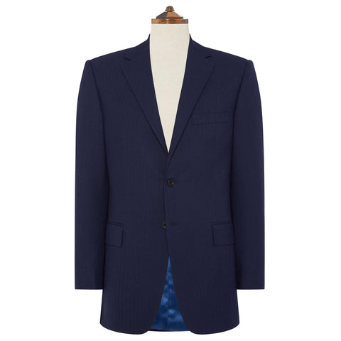 Navy Richmond Herringbone Suit
