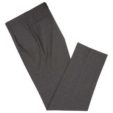 Tyler Charcoal Tropical Panama Trousers