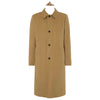 Lockwood Beige Cotton Blend Raincoat