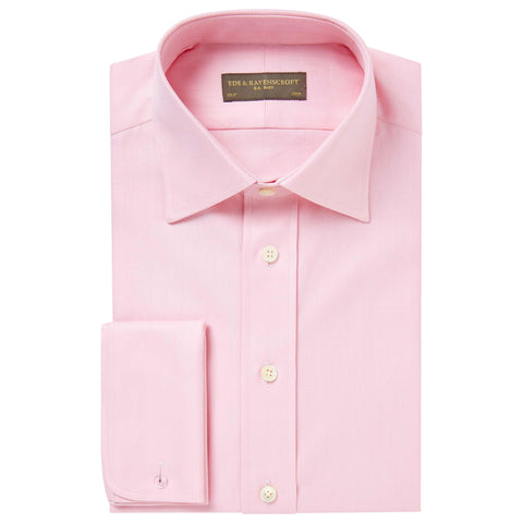 Pink Ainsley Herringbone Shirt
