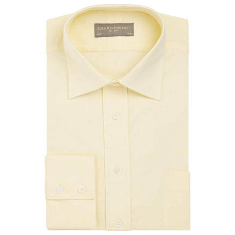Yellow Alderney Oxford Shirt