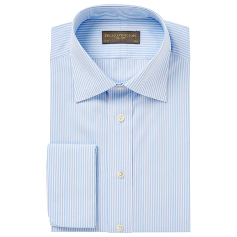 Light Blue Ainsley Bengal Stripe Shirt