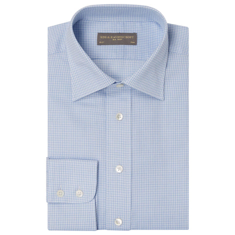 Blue Alistair Check Shirt