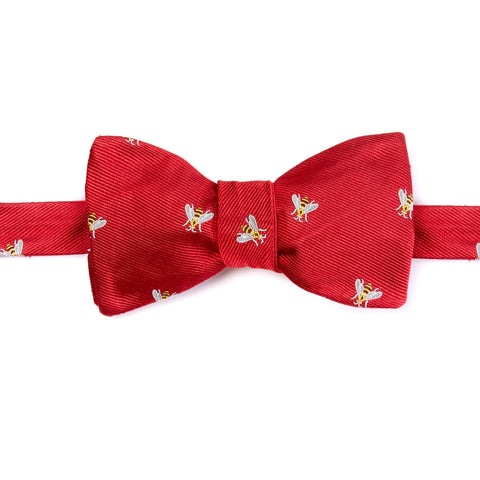 Red Bee Bow Tie
