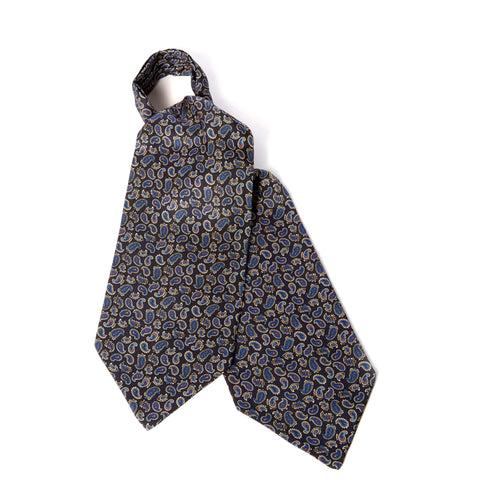Navy Teardrop Cravat