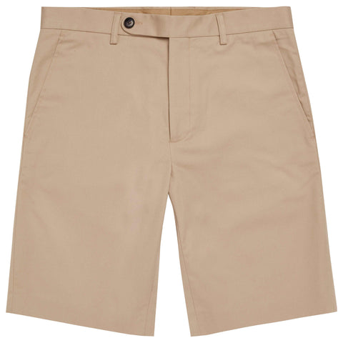 Taylor Beige Cotton Short