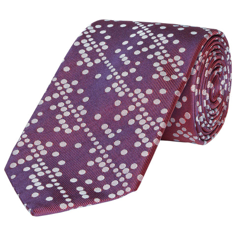 Kingston Celtic Spot Woven Silk Tie