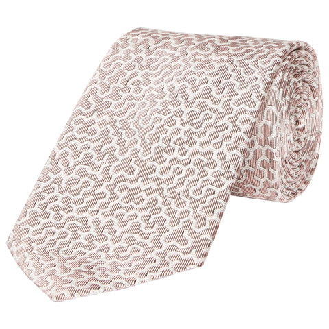Kingston Maze Woven Silk Tie