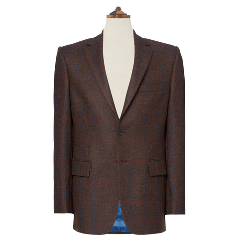 William Brown Check Wool Jacket