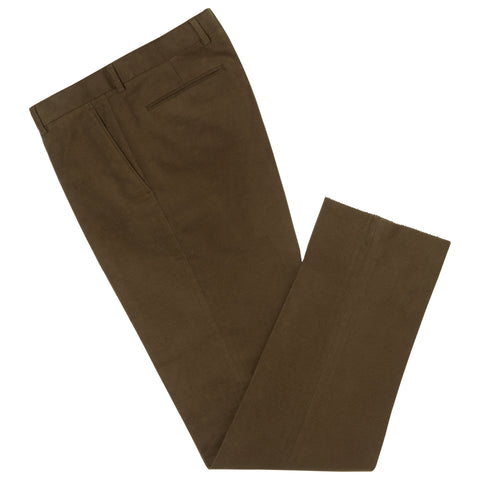 Barney Dark Green Moleskin Trouser