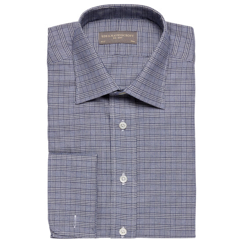Ainsley Navy Prince of Wales Check Shirt