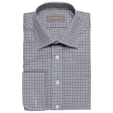 Ainsley Navy Check Shirt