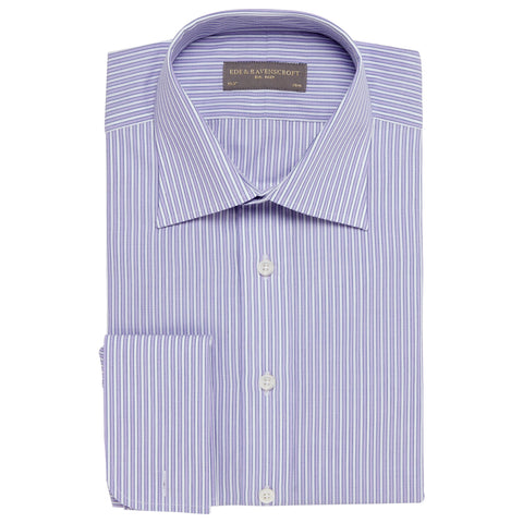 Ainsley Lilac Stripe Shirt