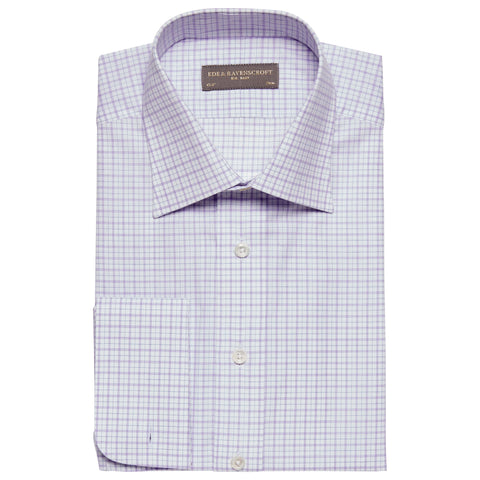Ainsley Lilac Check Shirt