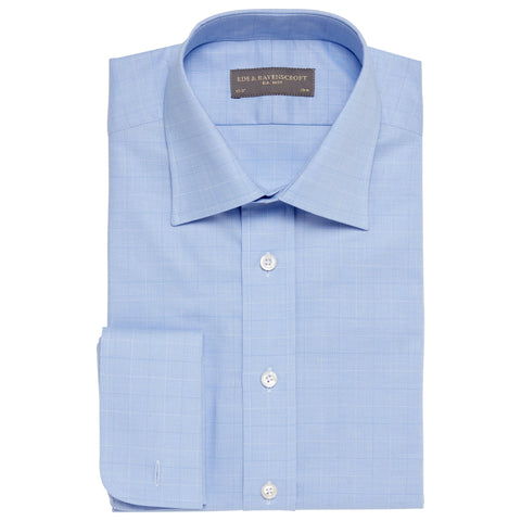 Ainsley Blue Windowpane Check Shirt