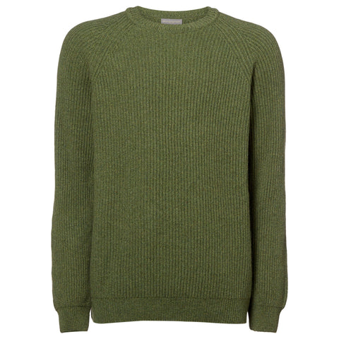 Kyle Green Crewneck Cashmere Sweater