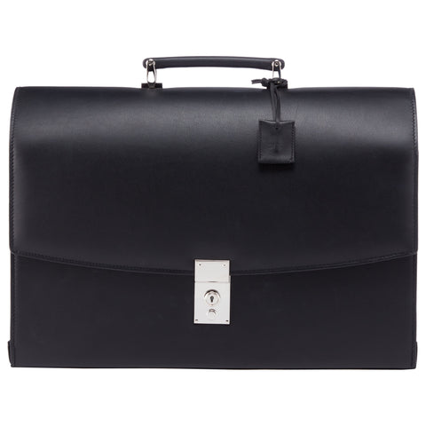 Blackstone Black Leather Briefcase