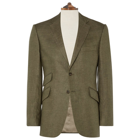 William Khaki Linen Jacket