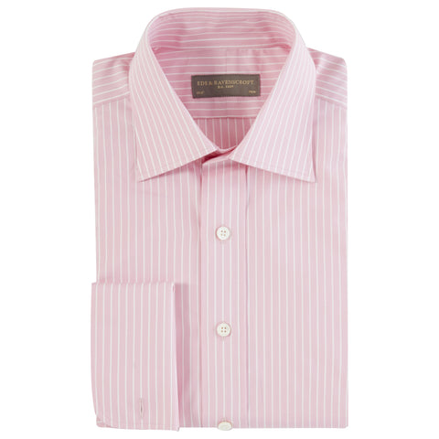 Ainsley Pink Stripe Twill Shirt
