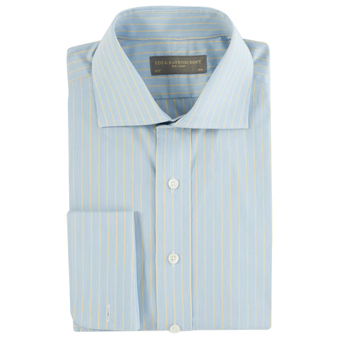Angus Blue and Yellow Stripe Shirt
