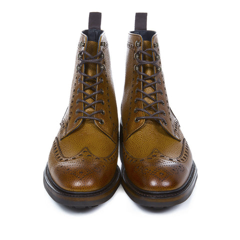 Stafford Brown Brogue Boots