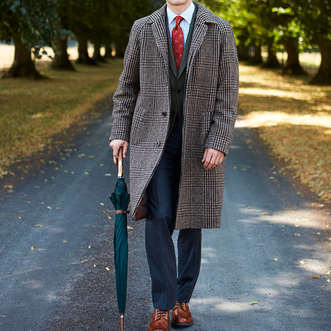 Templemore Brown Check Coat