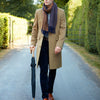 Warrington Camel Wool Cashmere Coat