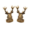 Antique Gold Stag Cufflinks