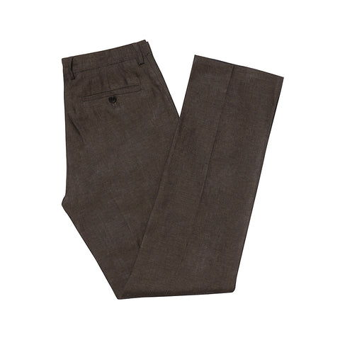 Holborn Brown Linen Trousers