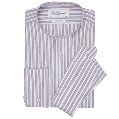 Albion Pink and White Bold Stripe Legal Shirt