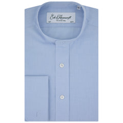 Anton Blue Poplin Cotton Tunic Shirt