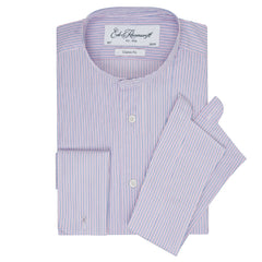 Albion Pink and Blue Fine Stripe Legal Shirt