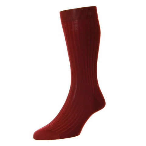 Wine Laburnum Wool Socks