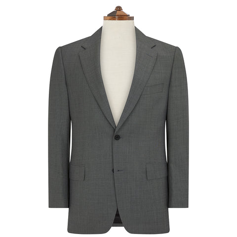 Kensington Grey Sharkskin Suit