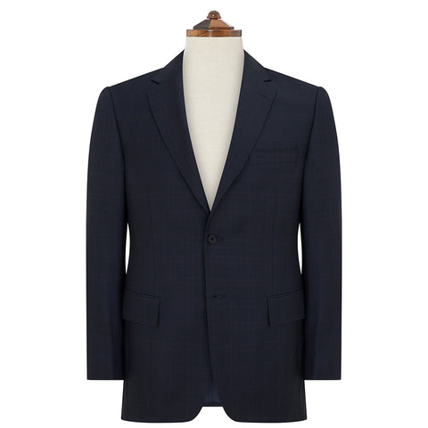Cambridge Blue Check Suit