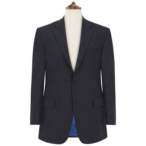 Cambridge Grey and Blue Flannel Suit